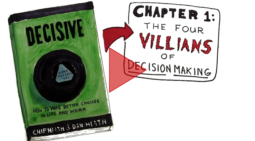Video Review for Decisive by Chip and Dan Heath-'Chapter 1'