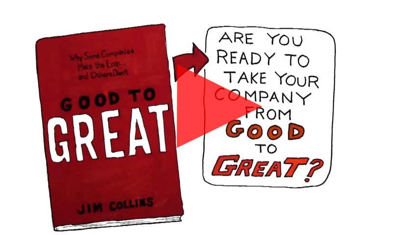 Video Review for Good To Great by Jim Collins